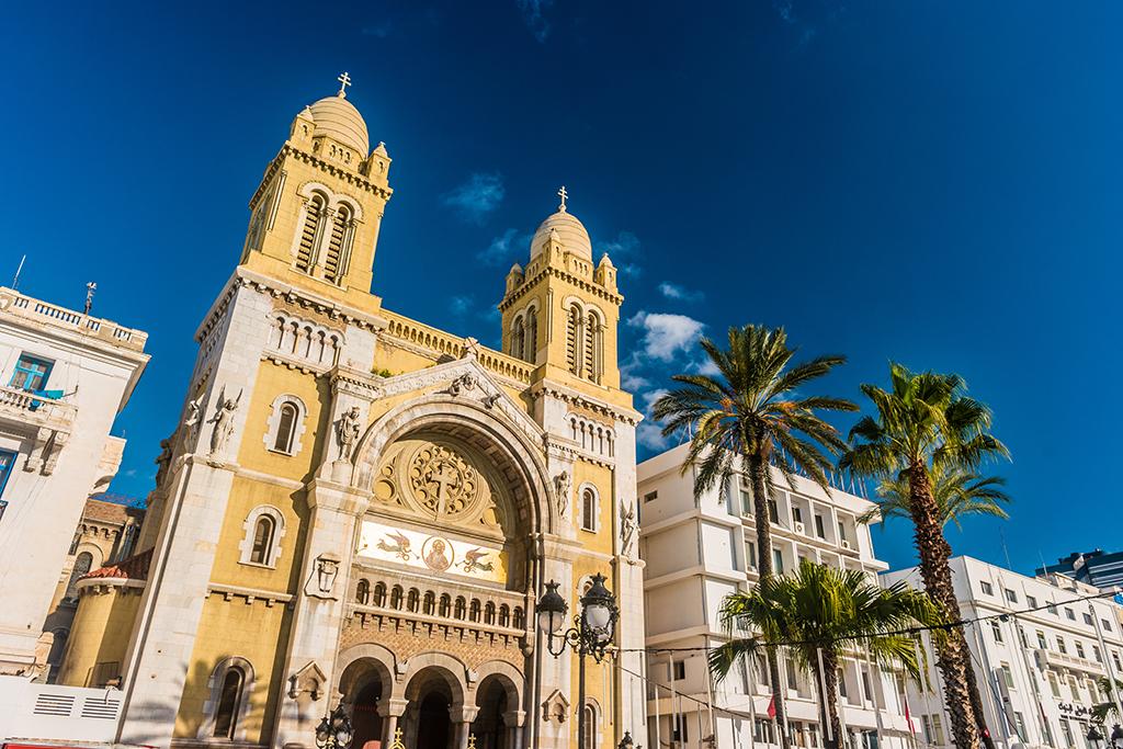 Столица Туниса - город Тунис