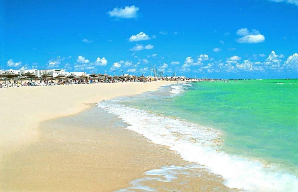 Пляжи острова Джерба, Тунис