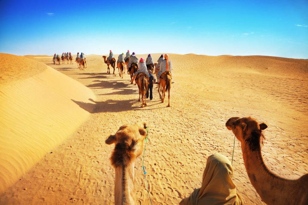 Экскурсия в Сахару в октябре, Тунис
