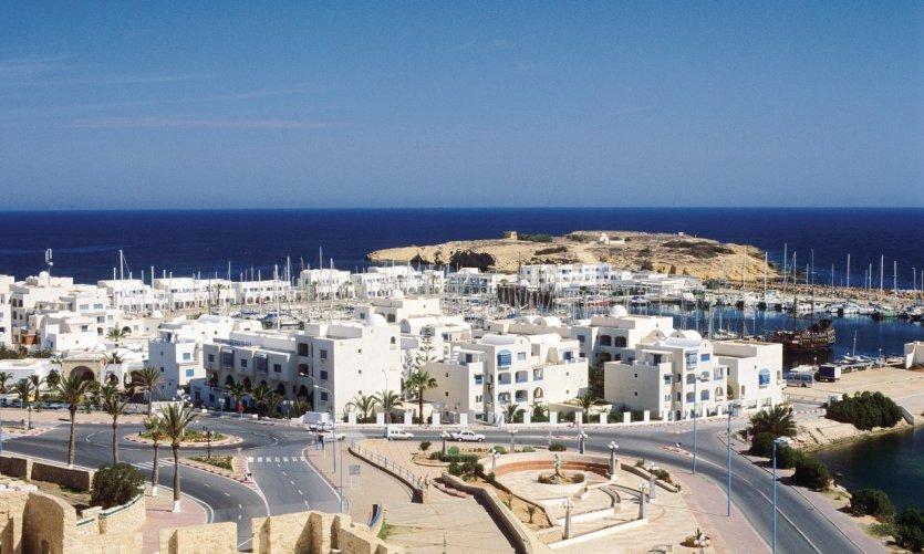 Гавань Port de Plaisance, город Монастир, Тунис