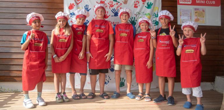 Детский кулинарный мастер-класс в Novostar Khayam Garden Beach & Spa 4*